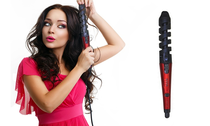 Curl magic perfect hair curling wand groupon for Cheap curling wands