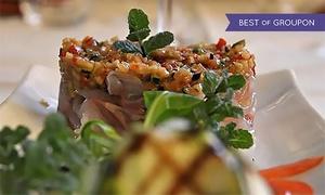 OSTERIA ROSSO DI SERA: Osteria Rosso di Sera - Menu creativo di pesce di 7 portate e bottiglia di Prosecco DOC Millesimato (sconto fino a 71%)
