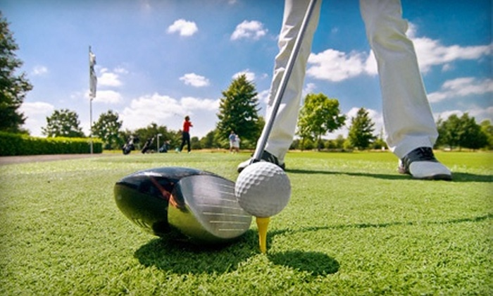 The  Links at Cottonwoods at Harrah's Tunica in Robinsonville - Tunica Resorts: 18 Holes of Golf with Cart for Two or Four at The Links at Cottonwoods in Robinsonville (Up to 53% Off). Four Options.