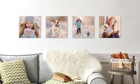 Foto-lienzo personalizable en diversos tamaños desde 1 € en Photo Gifts (ES)