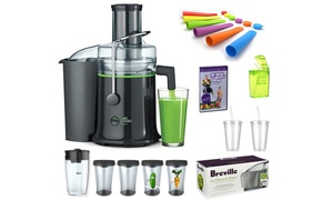 The Fresh Start Joe Cross Juicer and 12 Accessories Bundle