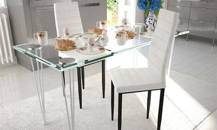Fino a 6 sedie da tavola disponibili in 3 colori da 49,90 €