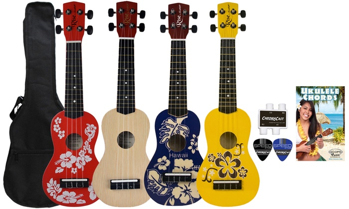 Up To 58 Off On Rise By Sawtooth Ukulele Pack Groupon Goods