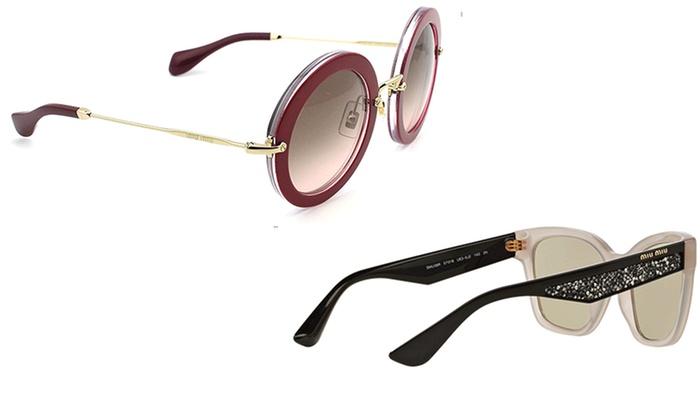 89a6a9175 Up To 45% Off on Miu Miu Women's Sunglasses | Groupon Goods