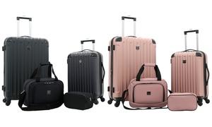 Travelers Club Midtown Hardside Spinner Luggage Set (4-Piece)