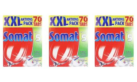 XXL Somat Spülmaschinentabs, 210 oder 350 Stück
