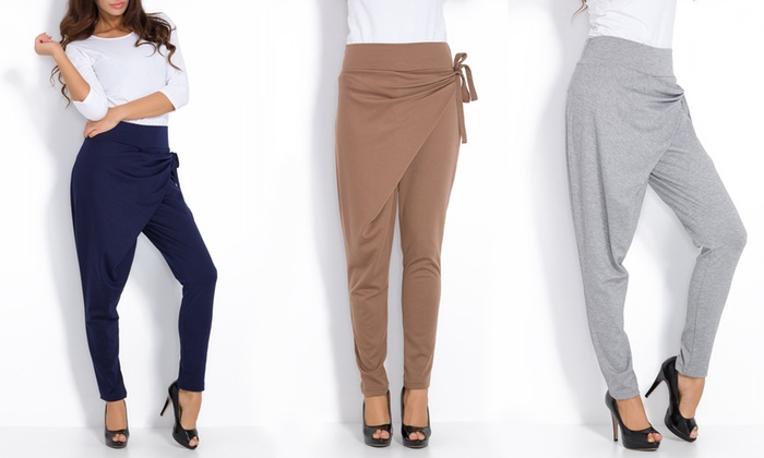 Pantalone donna oversize