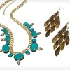 Up to 47% Off Earrings and Beaded Necklaces