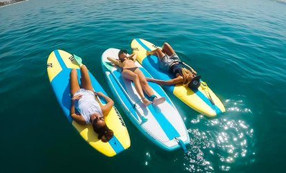 Single or Couple Paddleboard Rental with Optional Lesson or Kayak Rental for One Hour at Kite N' Surf