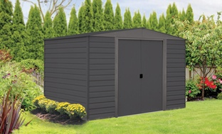 Vinyl Dallas Gray Series Sheds