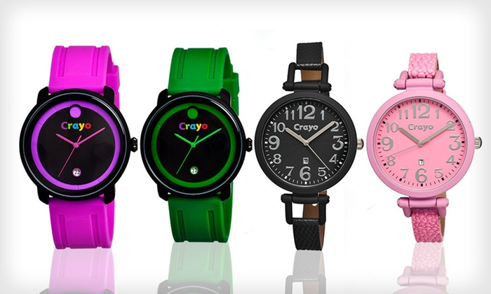 Crayo Women's or Unisex Watches: Crayo Women's Balloon or Unisex Fresh Watch (Up to 84% Off). Nineteen Styles Available. Free Shipping and Free Returns.