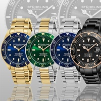 Deals on Stuhrling Original GP16457 Mens Professional Dive Watch
