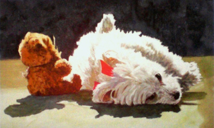 Steven Jordan Art - Mount Pleasant: $350 for a Custom Painting of One Adult, Child, or Pet from Steven Jordan Art in Mount Pleasant ($850 Value)