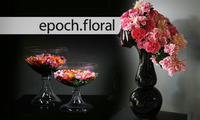 Epoch Floral - Goose Island: Floral Design Classes at Epoch Floral. Choose Between Two Options.
