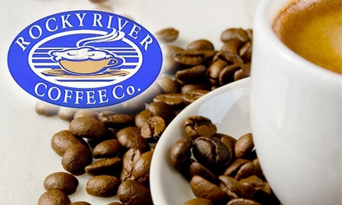 Rocky River Coffee Co. - Multiple Locations: $5 for $10 Worth of Coffee, Smoothies, Ice Cream, and More at Rocky River Coffee Co.
