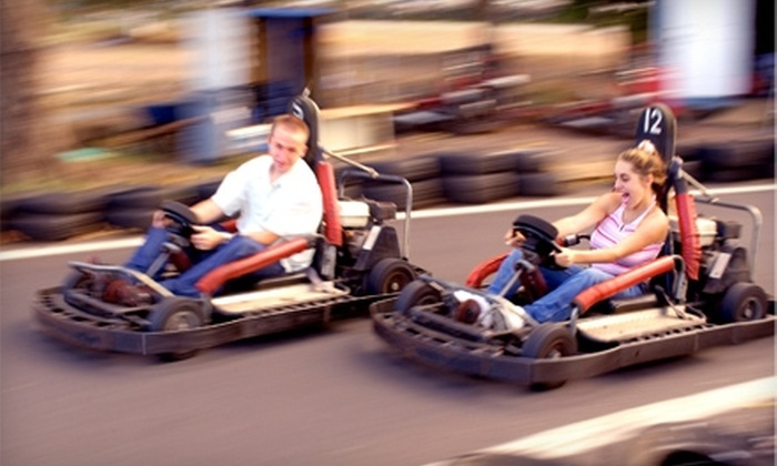 Go-carts in french lick in