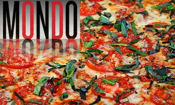 Mondo - Middletown: $20 for $40 Worth of Artisan Pizza, Drinks, and More at Mondo in Middletown