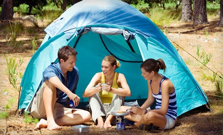 Two-Night Rental of a Nonserviced Campsite Including HST - Bissells Hideaway in Ridgeville