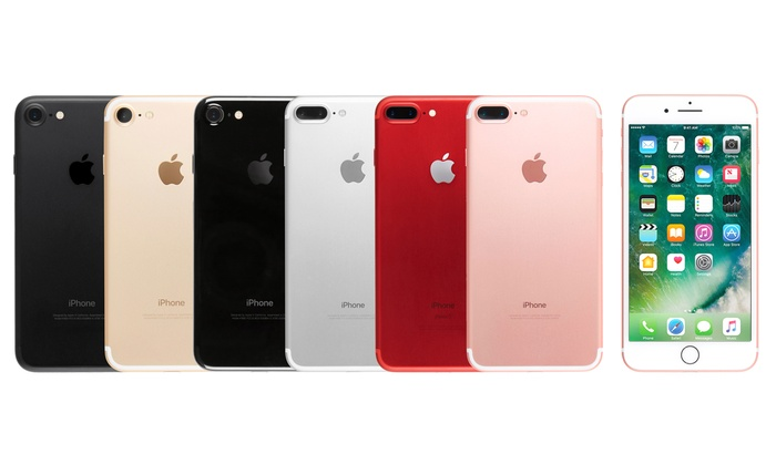 reputable site e7086 53efc Apple iPhone 7 or 7 Plus for T-Mobile (Refurbished, B-Grade) | Groupon