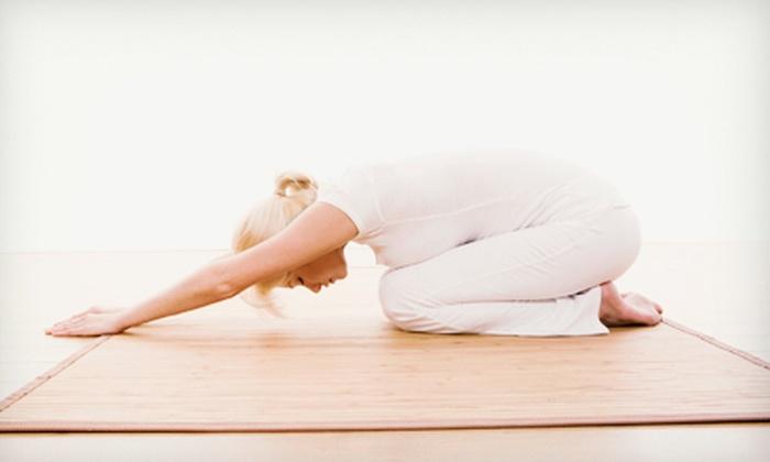 Paula's Yoga - Memphis: 10 or 20 Yoga Classes at Paula's Yoga (Up to 72% Off)