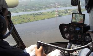 City Copter: 25 Min. Helikopter Panorama-Rundflug über Hamburg für 1 oder 2 Personen mit City Copter (bis zu 52% sparen*)