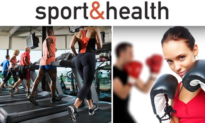 Sport & Health Clubs  - Washington DC: $15 for 30-Day Membership and One Training Session at Sport & Health Clubs ($199 Value)