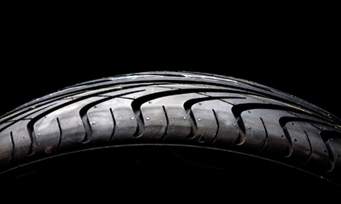 Fletcher's Tire & Auto Service - Multiple Locations: Four Michelin or BFGoodrich Tires at Fletcher's Tire & Auto Service (Up to 75% Off). Two Options Available.