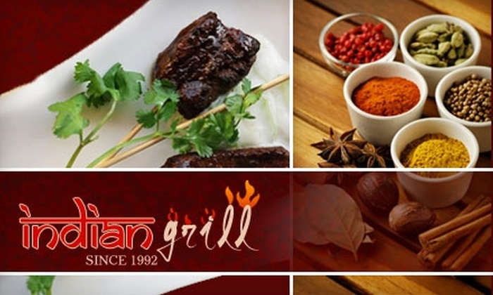 Indian Grill - Papaschase Industrial: $9 for $18 Worth of Authentic Indian Fare at Indian Grill