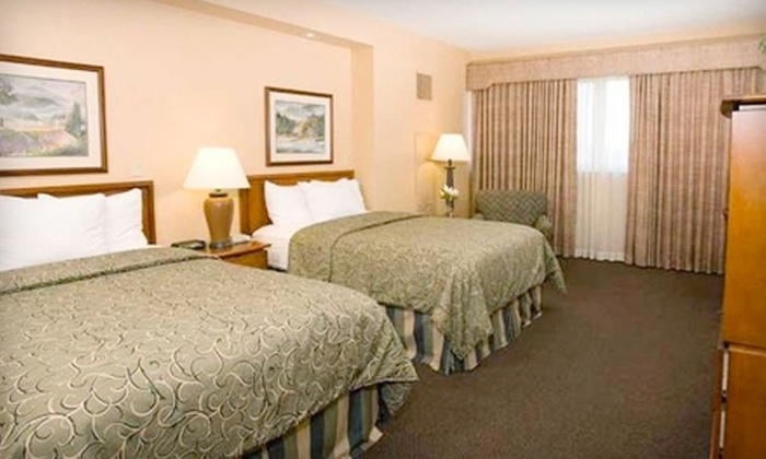 Capitol Plaza Hotel Topeka - Chesney Park: $69 for a One-Night Stay, Plus Choice of Local Wine or Beer and Breakfast for Two, at Capitol Plaza Hotel Topeka (Up to $140 Value)