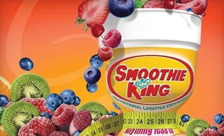 $12 Groupon to Smoothie King - Smoothie King in San Antonio