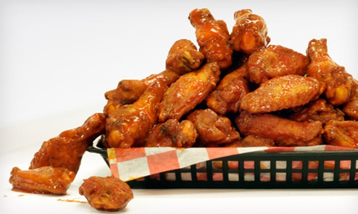 Wing Busters - Grandview: $10 for Dinner for Two with 25 Boneless Wings and Two Fountain Drinks at Wing Busters in Grandview ($22.37 Value)