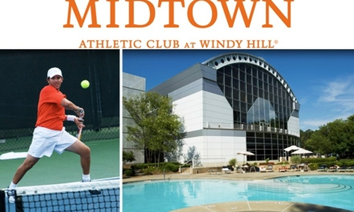 Midtown Athletic Club - Multiple Locations: $45 for 6 Tennis Lessons & Full Access to Midtown Athletic Club