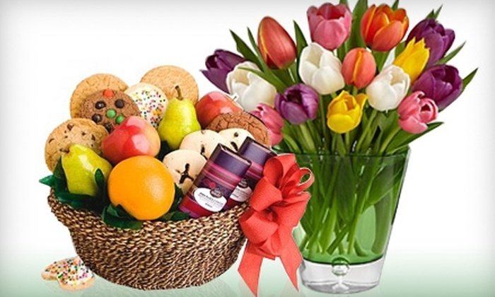 Ken's Flowers - Multiple Locations: $12 for $25 Worth of Flowers and Gift Baskets at Ken's Flowers