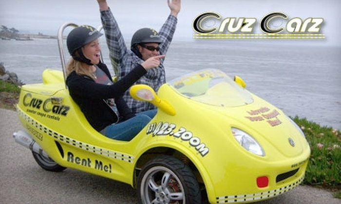 Cruz Carz - Central Santa Cruz: $49 for a Half-Day Scooter Car Rental and City Tour from Cruz Carz ($99 Value)