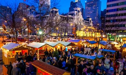 Christmas Village In Philadelphia In Philadelphia Pa