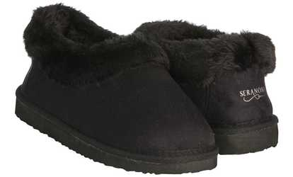 83391cf80f0 Shop Groupon Seranoma Women s Faux-Fur House-Boot Slippers with Anti-Slip  Sole