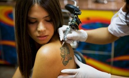 $53 Groupon to Darkhorse Tattoo - Darkhorse Tattoo in Edmonds