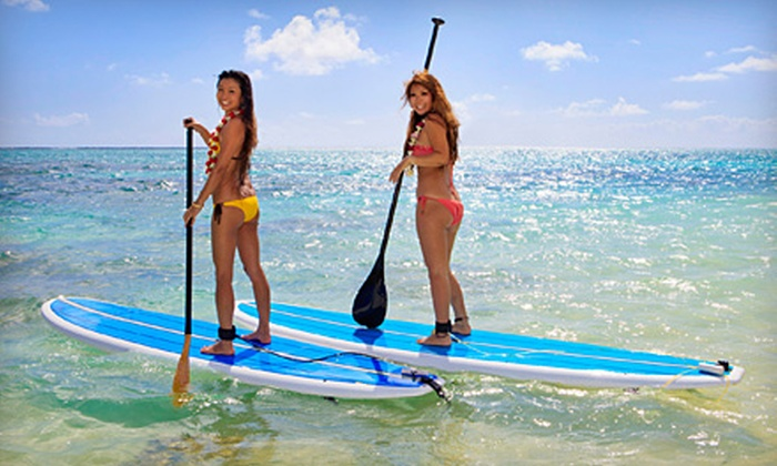 Mission Surf - Pacific Beach: Half- or Full-Day Surfboard or Paddleboard Rental from Mission Surf