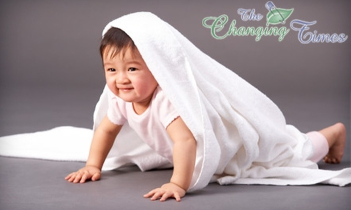 The Changing Times - 2: $10 for $25 Worth of Cloth Diapers, Baby Accessories, and More at The Changing Times in Franklin
