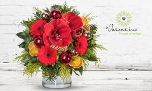 Valentins: Wertgutschein über 13 € anrechenbar auf das gesamte Blumen- und Geschenksortiment von Valentins