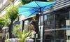 Villacera 9' Outdoor Patio Half Umbrella