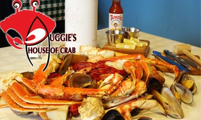 Auggie's House of Crab - Encinitas: $20 for $50 Worth of Crab-Feasting and Drinking at Auggie's House of Crab