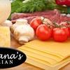 Up to 53% Off at Fontana's Italian
