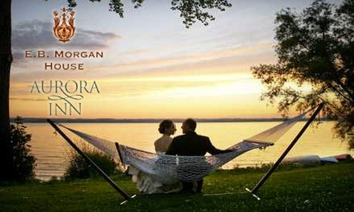 Aurora Inn - Multiple Locations: $99 for One Weekday Stay or $125 for One Day Weekend Stay at the Aurora Inn or E.B. Morgan House (Up to $275 Value)