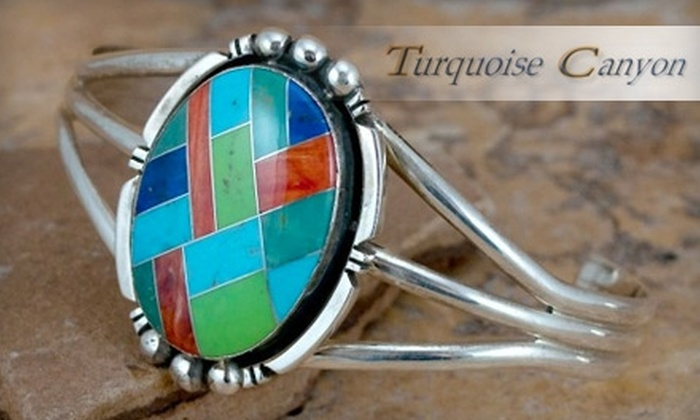 Turquoise Canyon: $50 for $100 Worth of Jewelry and Accessories from Turquoise Canyon