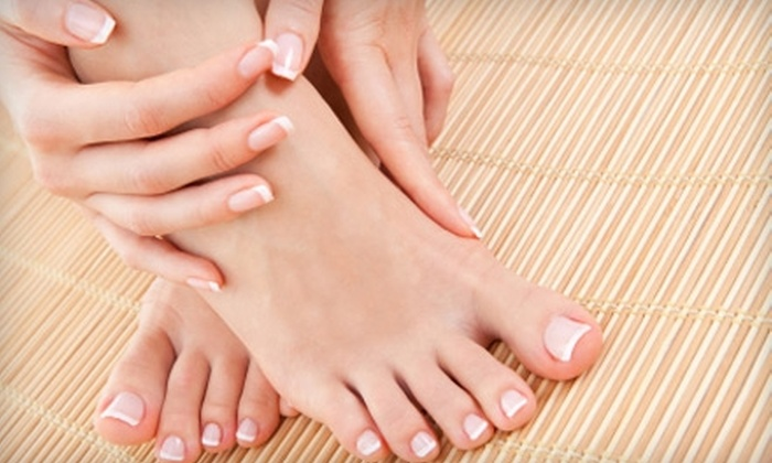 Pure Rain Nail Spa - Loop: $25 for a Mani-Pedi at Pure Rain Nail Spa in The Loop ($45 Value)