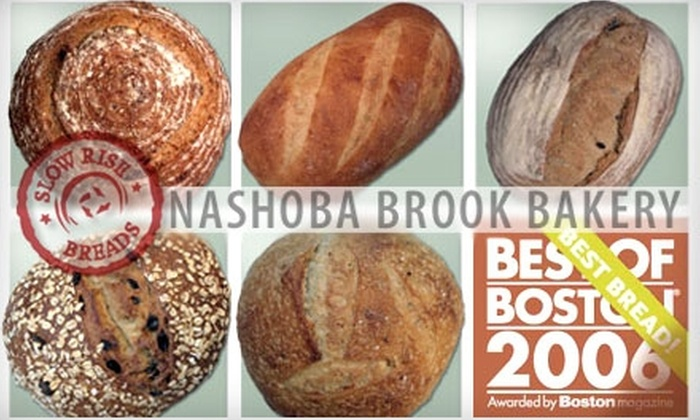 Nashoba Brook Bakery - Concord: $5 for $20 Worth of Slow-Rise Baked Artisan Breads from Nashoba Brook Bakery