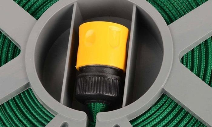 50ft hose reel and spray gun groupon for 50ft garden design