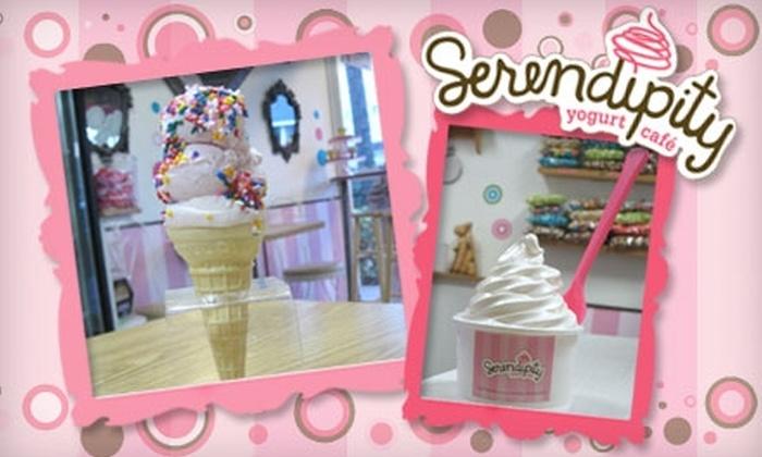 Serendipity Yogurt Cafe - Altos Del Mar: $4 for $8 Worth of Frozen Yogurt, Barista Beverages, and More at Serendipity Yogurt Cafe