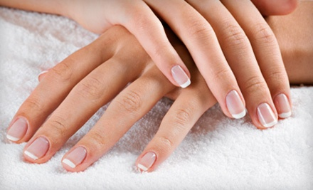 Shellac Manicure Package (a $50 total value) - Bella Spa & Tanning in Waterloo